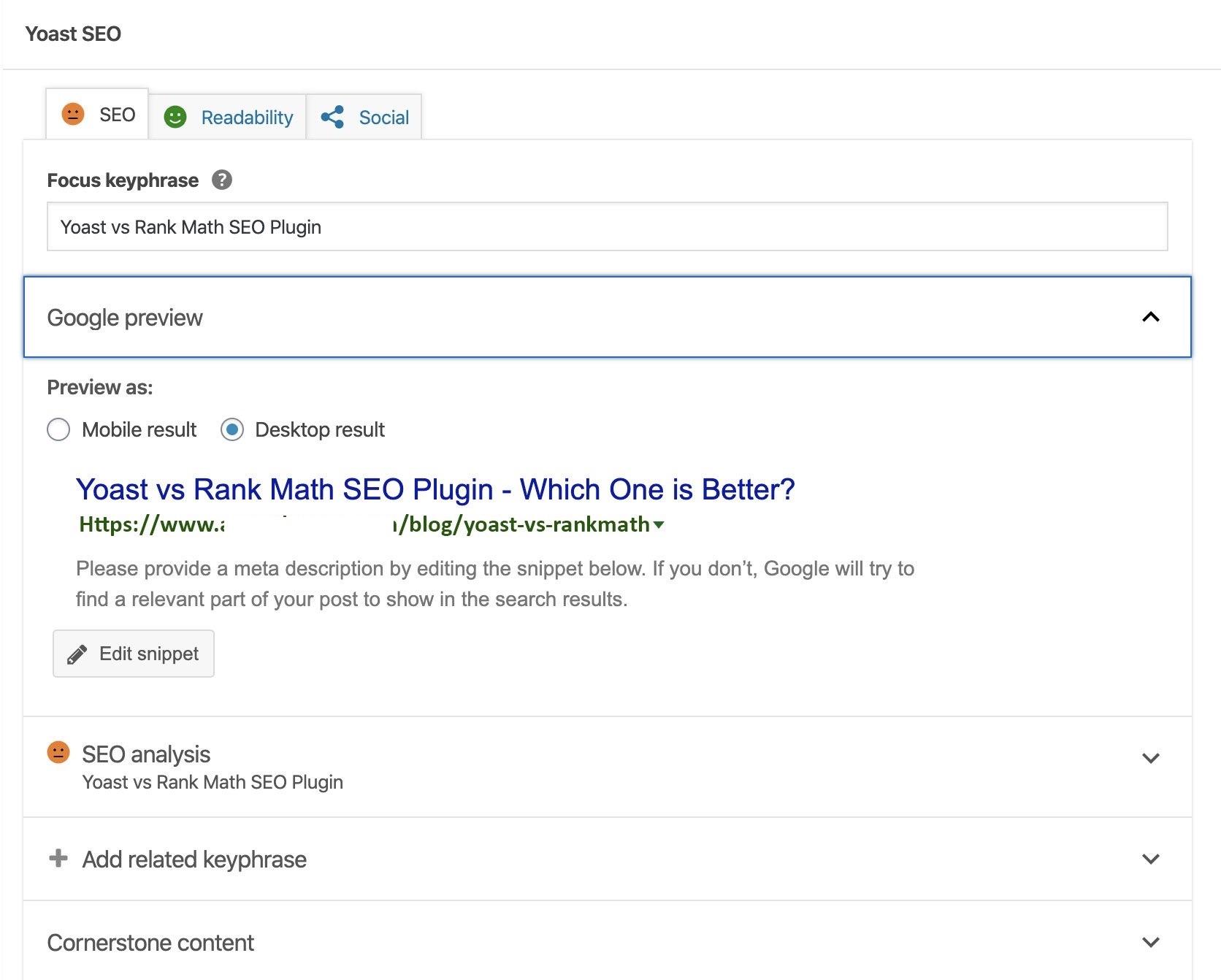 Plugin Yoast vs Rank Math SEO vs All In One SEO - Cái nào tốt hơn? 5