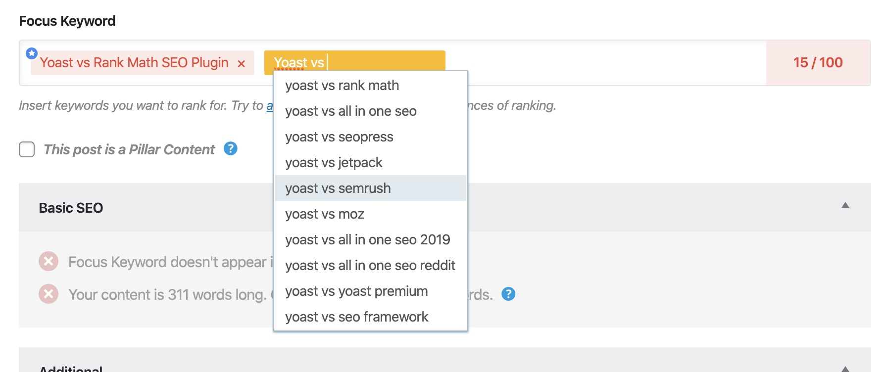 Plugin Yoast vs Rank Math SEO vs All In One SEO - Cái nào tốt hơn? 7