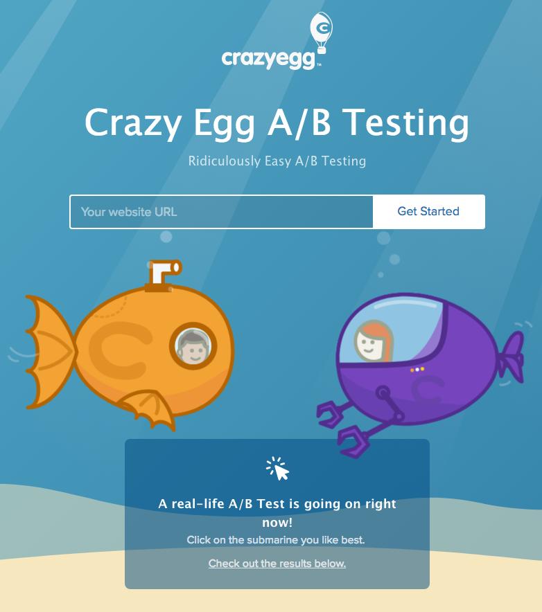 Crazy Egg 1