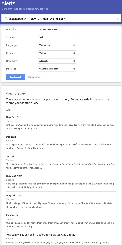 Google Alerts là gì? Hướng dẫn sử dụng Google Alerts từ cơ bản đến nâng cao 6
